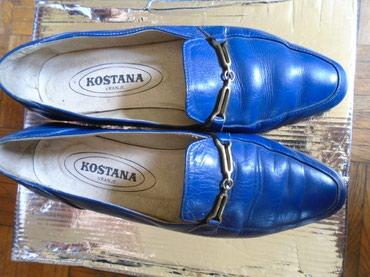 Plave cipele, kao mokasine, nekad vrlo poznatog po kvalitetu u - Belgrade