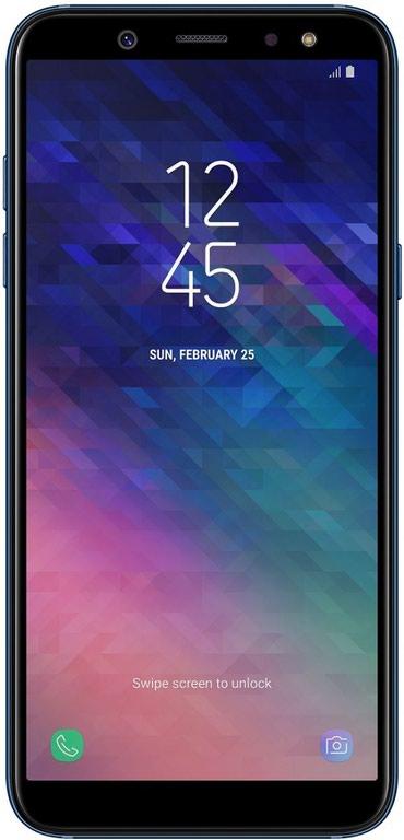 Samsung blue earth - Azerbejdžan: Novo Samsung Galaxy A6 32 GB plavo