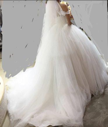 Продаю шикарное свадебное платье от в Бишкек