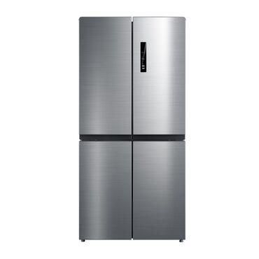 Новый Side-By-Side (двухдверный) Серый холодильник
