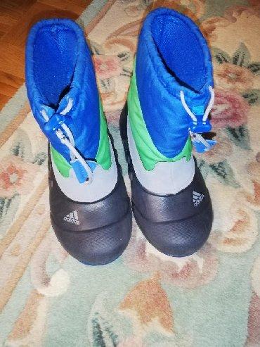 Dečije Cipele i Čizme | Pancevo: Adidas Primaloft 34-35 nosene 10 dana na zimovanju gaziste oko 20,5