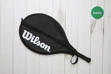 Спорт и отдых - Украина: Тенісна ракетка з чохлом Wilson    Довжина: 66 см Ширина: 19 см  Стан