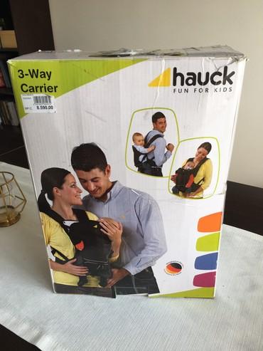 Helanke jako atraktivne za devojku kg - Srbija: Nosiljka za bebe Hauck 3 way carrier, crna, ocuvana. Od 3,5 kg do 12 k