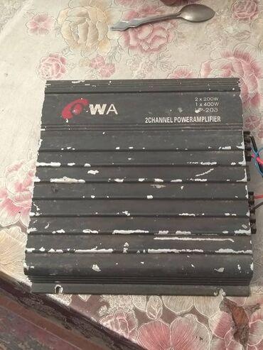Электроника - Александровка: Продаю усилитель в автомобиль мощности на 400 ват. Срочная цена