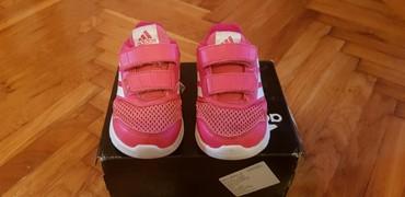 Adidas-patikice-kozne - Srbija: Patikice za devojcice adidas malo nošene br.21