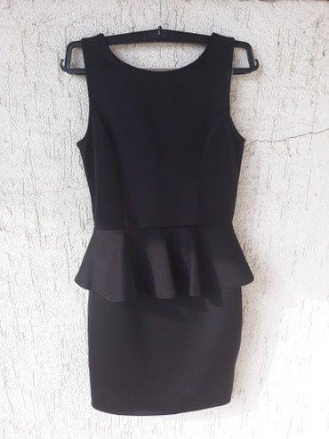 Crna peplum haljina in Novi Sad