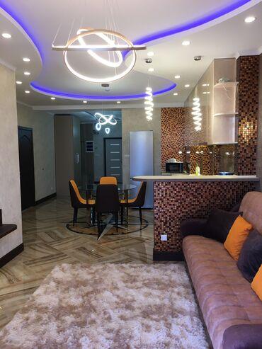 Квартиры - Бишкек: 2 комнаты, 80 кв. м С мебелью