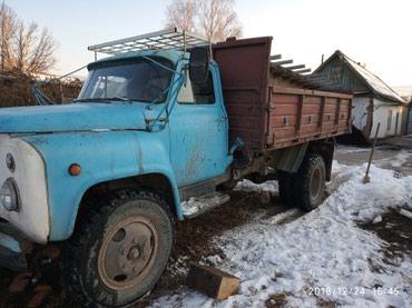 Газ 53 после ремонта матор коробки в Кочкор