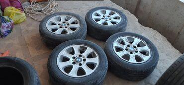 Литые диски R15 БМВ 4шт. Резины 30% протектор