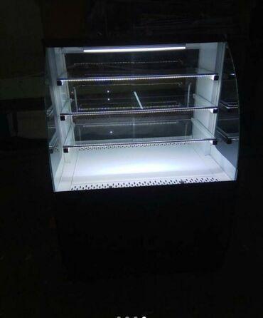 stolovye-pribory-bez-nozha в Кыргызстан: Новый Холодильник-витрина Коричневый холодильник