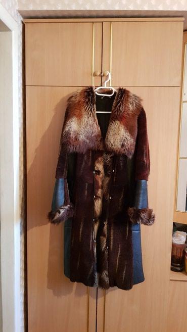 Продам женское пальто-дубленка. в Бишкек