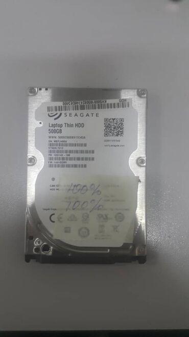 Продаю Жесткий диск Seagate 500GB 100% здоровья, для ноутбука или на