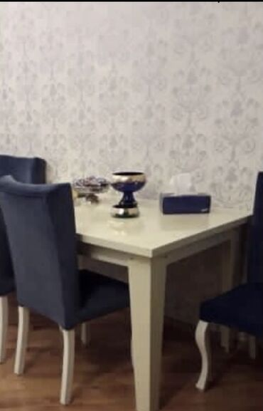 Kafe ucun stol stul satilir - Азербайджан: Stol ve 6 stul satilir. Yenidiler. Stol acilir