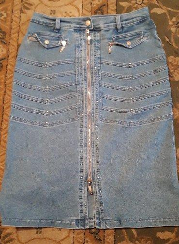 стильную джинсовую юбку в Кыргызстан: Юбки Lafei Nier L