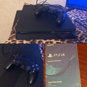 PS4 (Sony Playstation 4) - Azərbaycan: PS4 2aydı alınıb. 11 oyun var üstündə 700 manata alınıb 450 e satılır