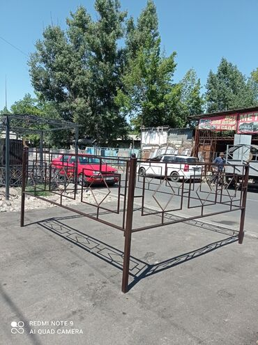 беседки бишкек in Кыргызстан | ГРУЗОВЫЕ ПЕРЕВОЗКИ: Ограда в наличии размер 3 на 2,5 Детские площадки ☑️Горки ☑️Балансиры