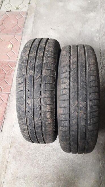 шина 19565r15 в Кыргызстан: Размер на рисунке две шины почти новые шины летные производство ро