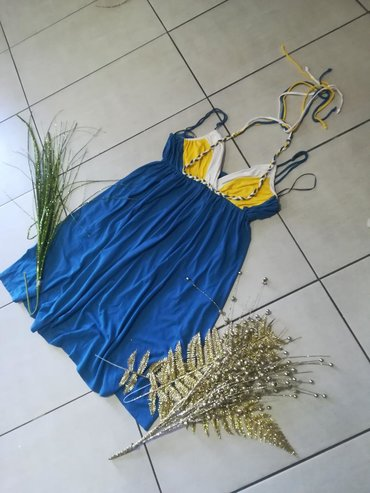 Vrhunska haljina super mekani pamuk elastin vel S MOdlican model i