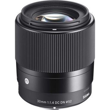 sumku dc meilun в Кыргызстан: Объектив Sigma 30mm f/1.4 DC DN Contemporary Sony E // MFT
