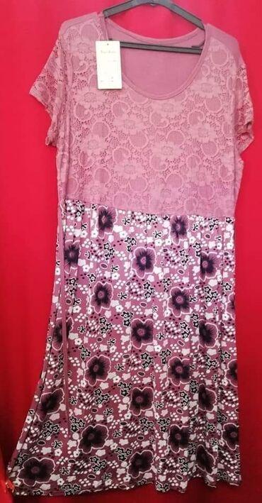 Preko grudi - Srbija: Prelepe haljine za punije dame 1200 dinVelicina uniObim grudi do 120