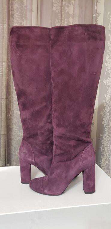 Продаю женские сапоги . Nursace. Б/У Цена 7000 сомПродаю женские туфли
