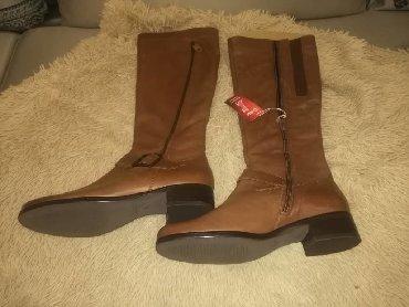 botinki 39 razmer в Кыргызстан: Немецкие кожаные брендовые демисезонные сапоги Gabor, купленные в