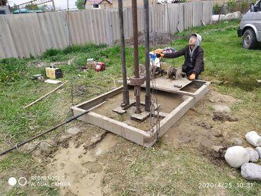 Оборудование для бизнеса в Сокулук: Для забивания скважины колонки в глубину 40 метров лебёдка на 380