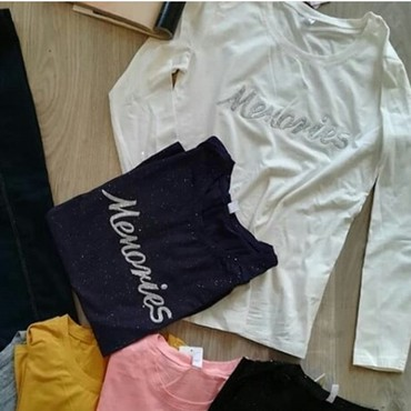Paket-obodi-majice-i-jedne-kosulje-lepo-odrzane - Srbija: Majice, bela i siva, novooooo