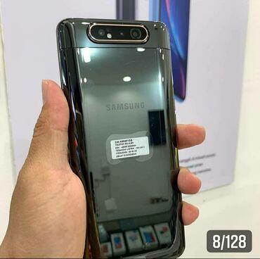 большой киндер в Кыргызстан: Б/у Samsung A80 128 ГБ Черный