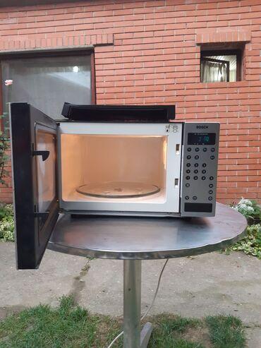 Mikrotalasna - Srbija: Odlicna Bosch Nemacka ugradna digitalna mikrotalasna pecnica. Ima vise