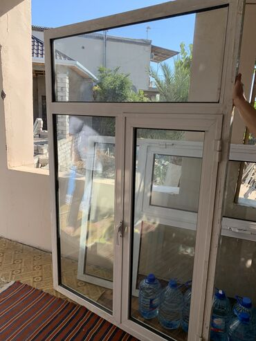 pencere - Azərbaycan: Aliminum pencere, az işlenmiş, 1i 70 manat