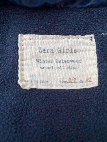 Продаю детскую куртку Zara 500 сом 2-3 года