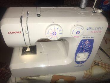 Бытовая швейная машинка, жакшы тигет, всё идеально