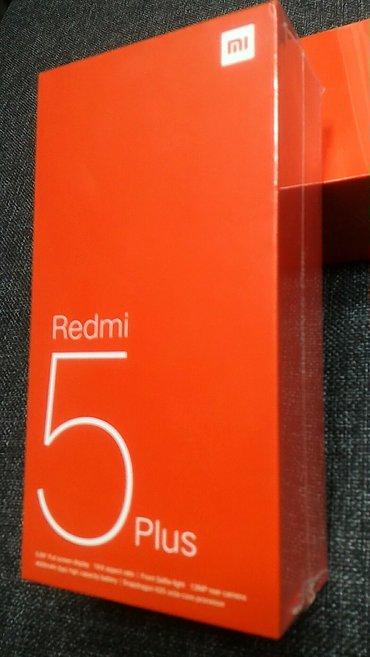 Bakı şəhərində Redmi 5 plus 3/32 black qlobal  bağlı qutu