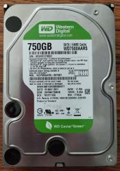 жёсткие диски sata в Кыргызстан: Жесткие диски Western Digital 750Gb SATA II 5 штукДата производства