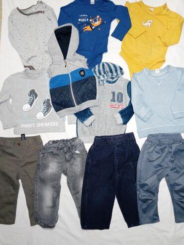 Paket sadrzi - Srbija: Veliki zimski paket za decaka 86Paket sadrzi:4x pantalona novih3x bodi