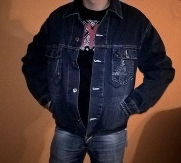 Muška odeća | Surdulica: Teksas jakna. Velicina L, u odlicnom stanju
