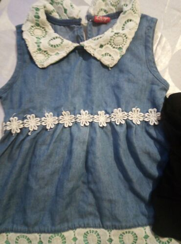Haljina i suknja za devojcicu vel 3, cena za obe stvari kao novo