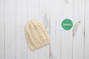Жіноча в'язана шапка    Довжина: 25 см Ширина: 18 см  Стан: дуже гарни
