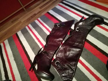 Casadei original kozne čizme, bez ikakvih ostecenja, nosene svega par - Pirot