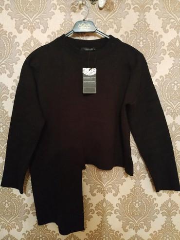 женские-черные-свитера в Азербайджан: Kofta Trend yoldan sifaris olunub yenidi geyinilmeyib etiketi var