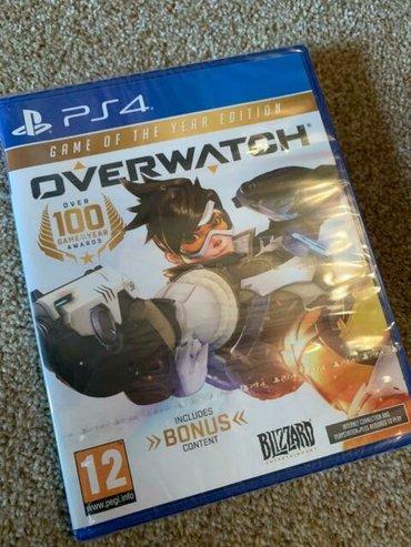ps4 oyunlari - Azərbaycan: Overwatch. Sony PlayStation 4 oyunlarının və aksesuarlarinin zəmanətlə