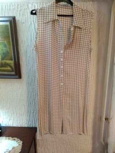 """Firmirani komplet """"Mona"""" velicina 40 - svila (suknja i kosulja) - Kragujevac"""