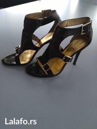 Guess-by-marciano-pantalone-slim-m-e - Srbija: Guess by Marciano sandale, 37 broj, nosene dva puta