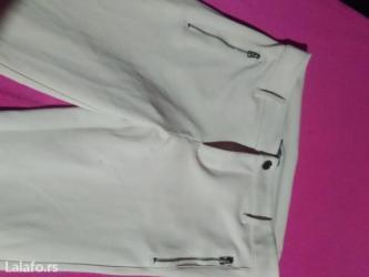 Zenske pantalone,krem boje u izuzetnom stanju kupljene u svsjcarskoj - Paracin