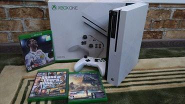 Xbox one s 500 гб памяти,в идеальном в Бишкек
