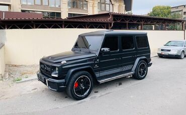 черный mercedes benz в Кыргызстан: Mercedes-Benz G-class AMG 5 л. 2000 | 240000 км