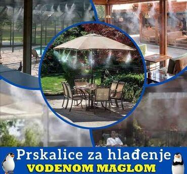Balkonska vrata - Srbija: AKCIJSKA PONUDA Prskalice za hladjenje vodenom maglomCENA: 1450