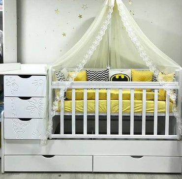 Детская кроватка трасформер (россия) в Каракол
