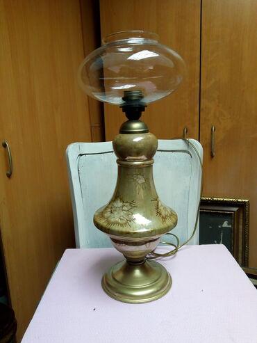 Rasveta   Kraljevo: Stilska lampa   kao nova visina 55 cm